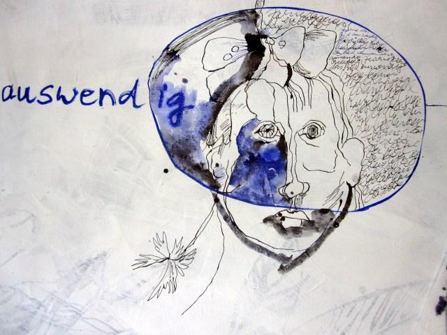 Zeichne das Bild auswendig (c) Leinwand von Susanne Haun