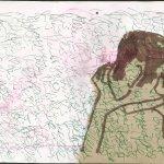 Das Gesehene (c) Zeichnung von Susanne Haun