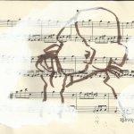 Spuren verwischen (c) Zeichnung von Susanne Haun