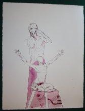 Ein Mensch entsteht (c) Zeichnung von Susanne Haun