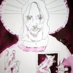 Der neue Tag beginnt – 65 x 50 cm (c) Zeichnung von Susanne Haun