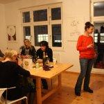Einige wenige Eindrücke von meiner Ateliereinweihung (c) Fotos von Susanne Haun
