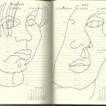 Selbstportrait Tagebuch 51. Woche (c) Zeichnung von Susanne Haun