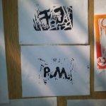 Monogramme von P.M. und F.J. (c) Foto von Susanne Haun