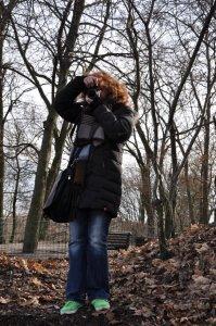 Ich am Bunker Humboldthain (c) Foto von M.Fanke