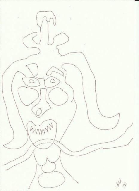 Bad Doberaner Münster 6 (c) Zeichnung von Susanne Haun