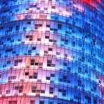 Der Torre Agbar ganz Nahe (c) Foto von Susanne Haun