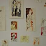 Arbeiten von Susanne Haun auf der Diorama (c) Foto von M.Fanke