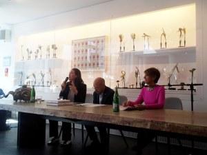 Beim Presselunch im me Collectors Room (c) Foto von Susanne Haun
