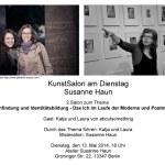 2. Salon bei Susanne Haun Einladung