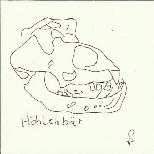Höhlenbär Version 2 (c) Zeichnung von Susanne Haun
