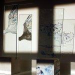 Storchenflug und künstliches Fluggerät (c) Objekte von Susanne Haun