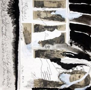 Blatt 31 – Klassenfoto (c) Collage von Susanne Haun