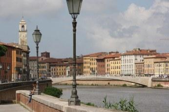 Der Arno in Pisa (c) Foto von Susanne Haun