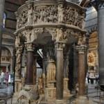 Kanzel von Giovanni Pisanos im Duome Santa Maria Assunta in Pisa (c) Foto von M.Fanke