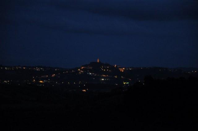 Nacht in der Stadt  San Miniato  (c) Foto von M. Fanke