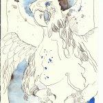 Adler Apostel Johannes (c) Zeichnung von Susanne Haun