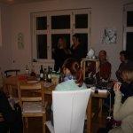 Wir suchen uns einen guten Platz für den Film (c) Foto von Susanne Haun