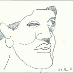 Ägypter 3- Zeichnung von Susanne Haun
