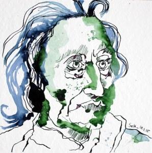 Mein Sinnbild von John Locke (c) Zeichnung von Susanne Haun