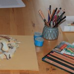 Ziege (c) Pastellzeichnung von Susanne Haun