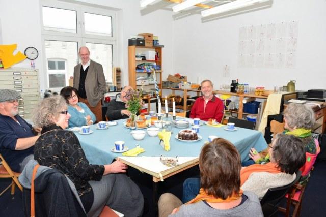 Ausstellungseröffnung double bind S.Haun und J.Küster (c) Foto von M.Fanke