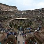 Innenraum des Kolloseum Rom (c) Foto von M.Fanke