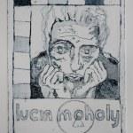 Lucia Moholy (c) Radierung von Susanne Haun