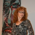 Susanne Haun im Salon am Dienstag mit Gabriele d.r. Günther (c) Foto von M.Fanke