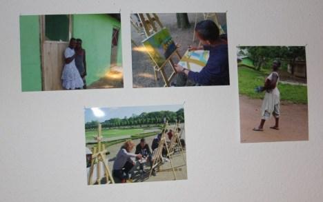 Gegenüberstellung der Leben in Ghana und in Berlin (c) Foto von Susanne Haun