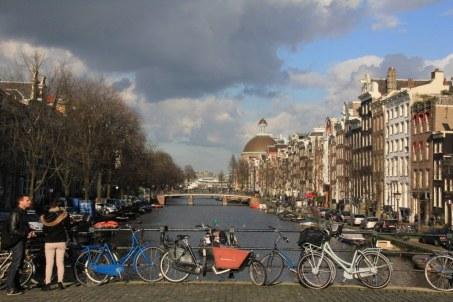 Rund um das Tulpenmuseum in Amsterdam - Prinsengracht (c) Foto von Susanne Haun