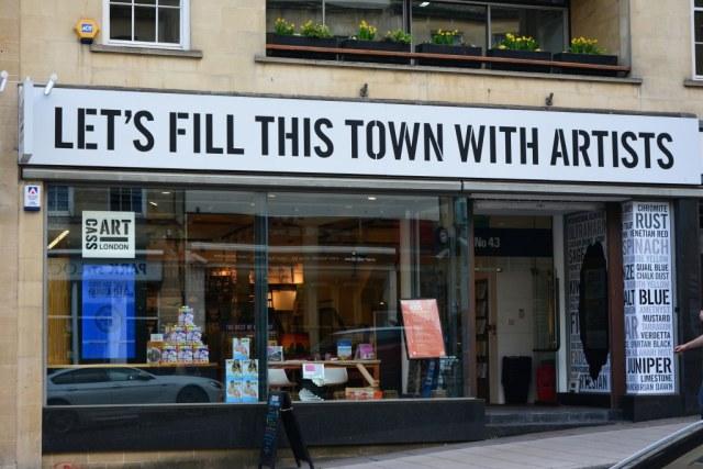 Bristol Downtown (c) Foto von M.Fanke