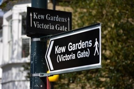 Auf dem Weg zum Kew Garden (c) Foto von M.Fanke
