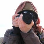 Hanne in den Cley Marshes (c) Foto von Susanne Haun