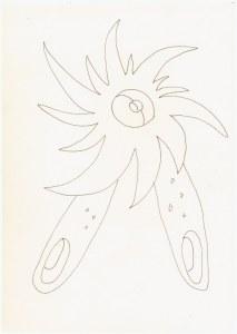 #64.2 Nullratsche(c) Zeichnung von Susanne Haun