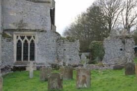 Auf dem Friedhof St Margaret's Church in Cley next the sea (C) Foto von Susanne Haun