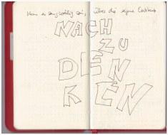 Kann es langweilig sein über die eigene Existenz nachzudenken (c) Zeichnungen von Susanne Haun