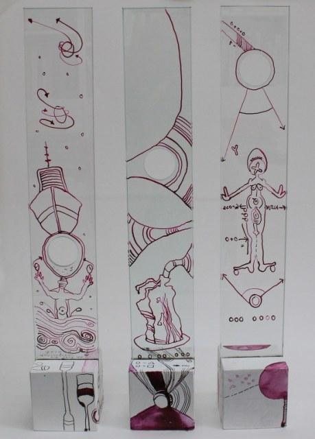 #68 Nulltunnel #67 Ein Nullboot ist schlecht zu steuern #66 Die Obszönität der Vermessung der Null(c) Objekt von Susanne Haun(c) Objekt von Susanne Haun