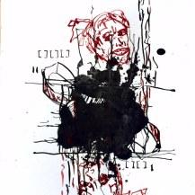 Weggegossen No. 20 a (c) Zeichnung von Jürgen Küster