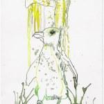 Weggegossen No. 22 b (c) Zeichnung von Susanne Haun