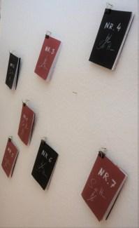 Impressionen von der Ausstellung Wegschütten (c) Foto von M.Fanke