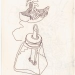 Aus meinem Skizzenbuch (c) Zeichnung von Susanne Haun