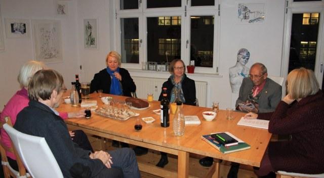 Impressionen vom 12. KunstSalon am Dienstag (c) Foto von Susanne Haun