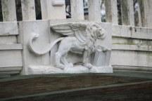 2 Der erste Eindruck in Venedig - der venizianische Löwe (c) Foto von Susanne Haun