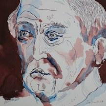 4 Meine Vorstellung von Seneca - Blau - Version 2 - 25 x 25 cm (c) Zeichnung von Susanne Haun