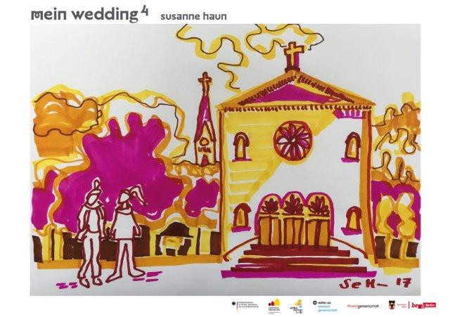 Mein Wedding 4 - Leopoldplatz von Susanne Haun