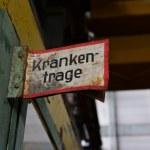 Industriemuseum Brandenburg - Krankentrage (c) Foto von M.Fanke