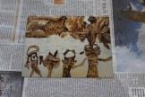 Zinkplatte Tulugaqs Weg zur Erkenntnis - 10 x 15 cm - Die Tonstufen entstehen (c) Aquatinta Radierung von Susanne Haun