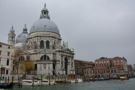 Santa Maria dela Salute - Venedig aus dem Vaporetto (c) Foto von M.Fanke