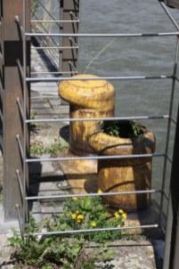 Auf dem Boden der Kranhäuser Köln am Rhein (c) Foto von Susanne Haun